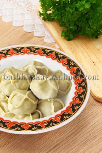 Рецепт блюда башкирской национальной кухни - Манты