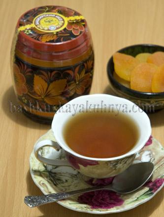 Рецепт блюда башкирской национальной кухни - Чай