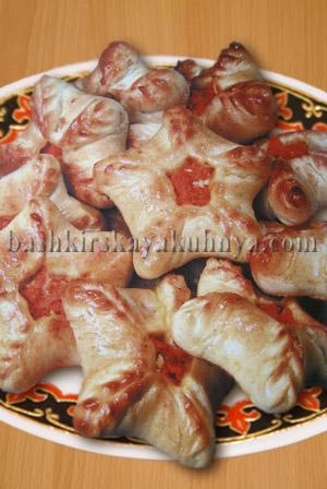 Рецепт блюда башкирской национальной кухни - Дучмаки с морковью